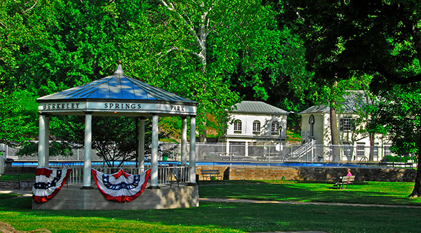 Berkeley Springs is America's First Spa Town